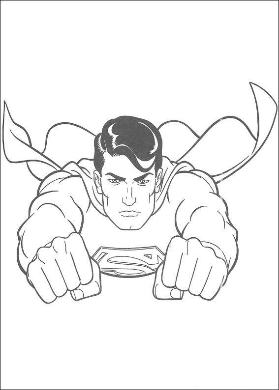 kidsnfunde  51 ausmalbilder von superman