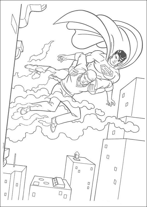 kidsnfunde  malvorlage superman superman