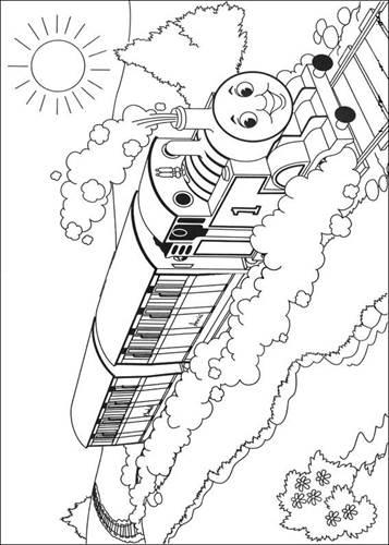 Kids N Funde 56 Ausmalbilder Von Thomas Die Kleine Lokomotive