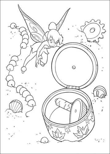 Kids N Funde 58 Ausmalbilder Von Tinker Bell