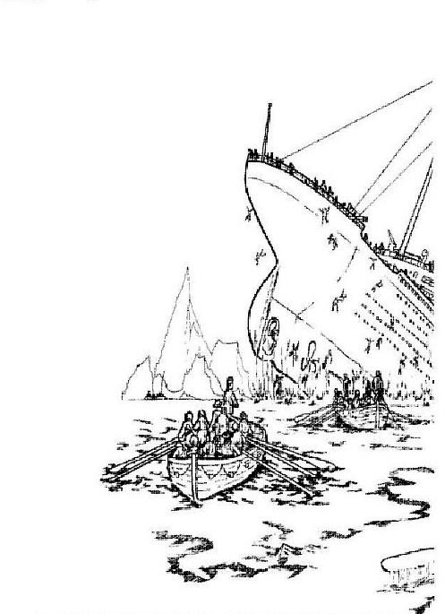 Kleurplaat 30 Kids N Fun De 30 Ausmalbilder Von Titanic