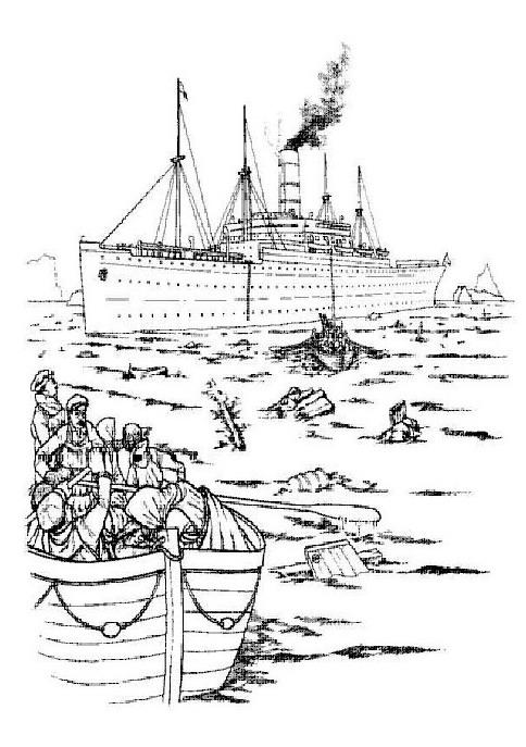 Kids N Fun De 30 Ausmalbilder Von Titanic