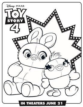Kids N Funde 17 Ausmalbilder Von Toy Story 4
