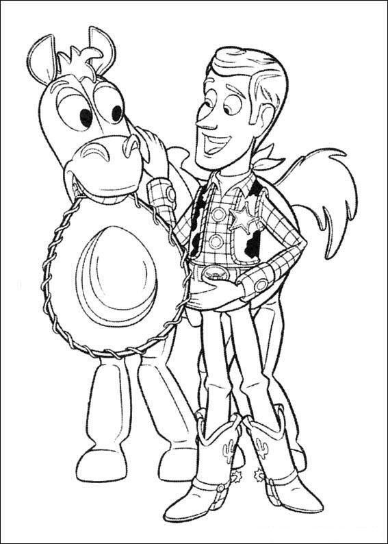 Kids-n-fun.de | 34 Ausmalbilder von Toy Story 3