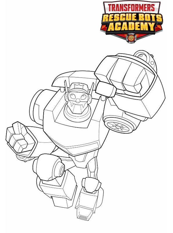 kidsnfunde  malvorlage transformers rescue bots chase