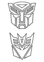 Kids N Fun De Ausmalbild Transformers Transformers