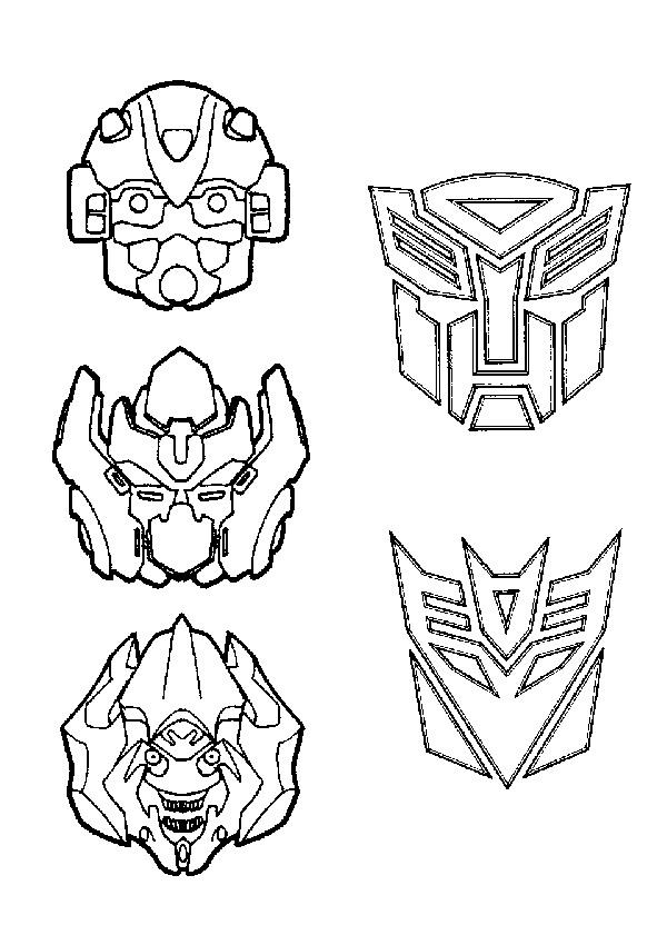 Kidsnfunde 33 Ausmalbilder von Transformers