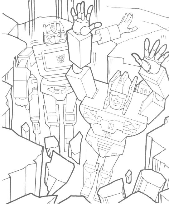 Kids-n-fun.de | Ausmalbild Transformers Transformers