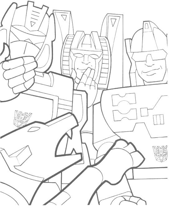 kidsnfunde  malvorlage transformers transformers
