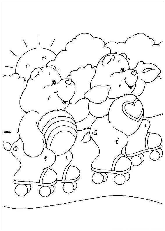 kidsnfunde  malvorlage glücksbärchis glücksbärchis