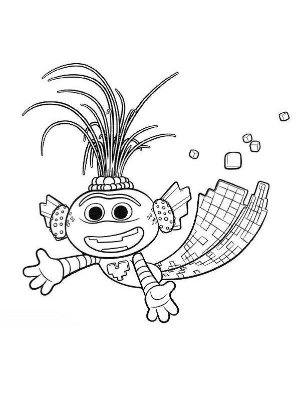 kidsnfunde  malvorlage trolls world tour trollex king