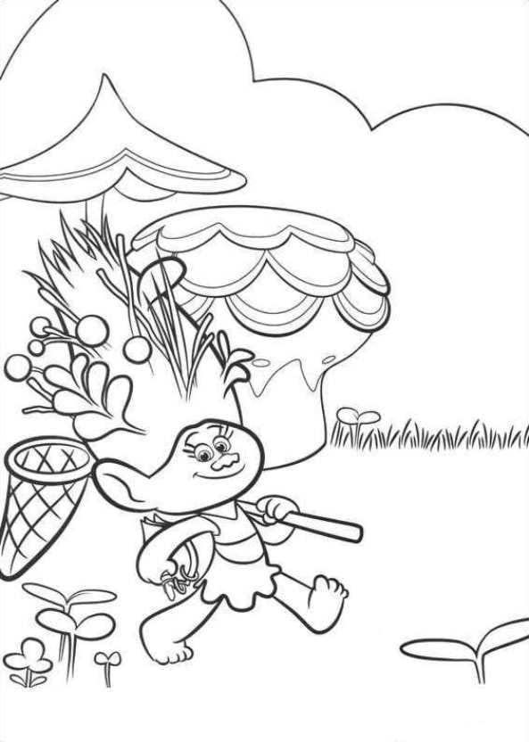 Kids-n-fun.de   26 Ausmalbilder von Trolls