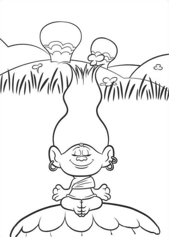Kids-n-fun.de | 26 Ausmalbilder von Trolls