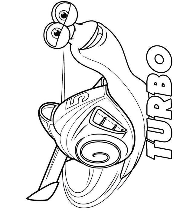 Kids-n-fun.de | 44 Ausmalbilder von Turbo (Pixar)