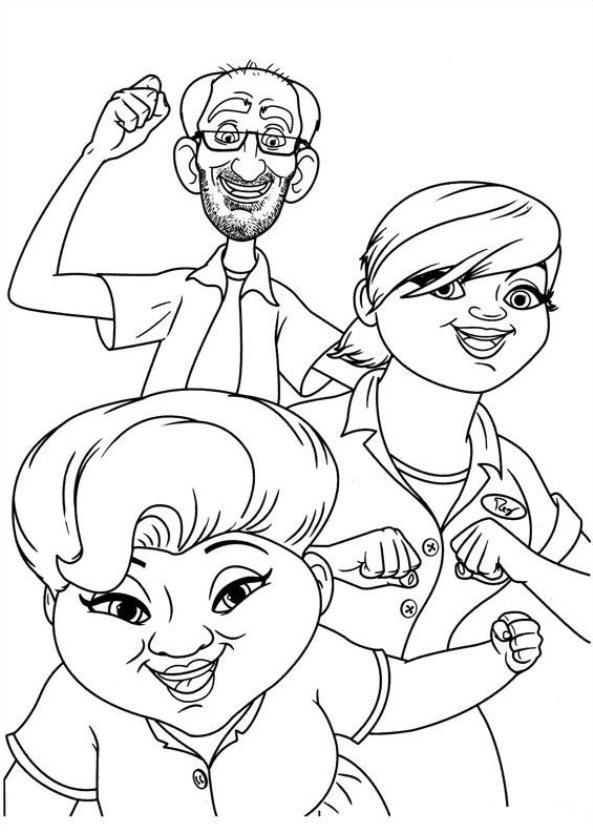 Kids-n-fun.de   44 Ausmalbilder von Turbo (Pixar)