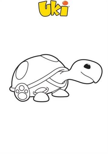 kidsnfunde  27 ausmalbilder von uki