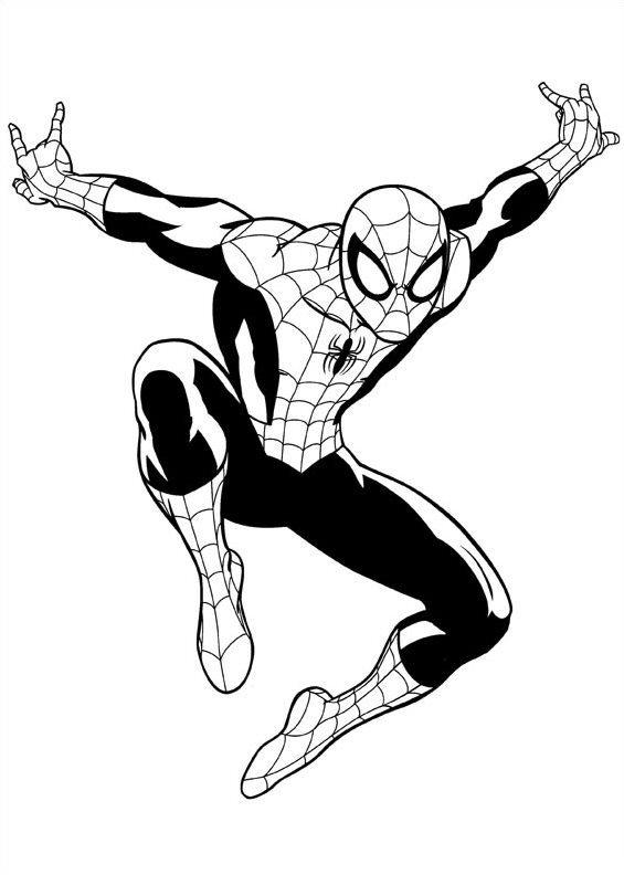 Ausmalbilder Spiderman Lego: 16 Ausmalbilder Von Ultimate Spider Man