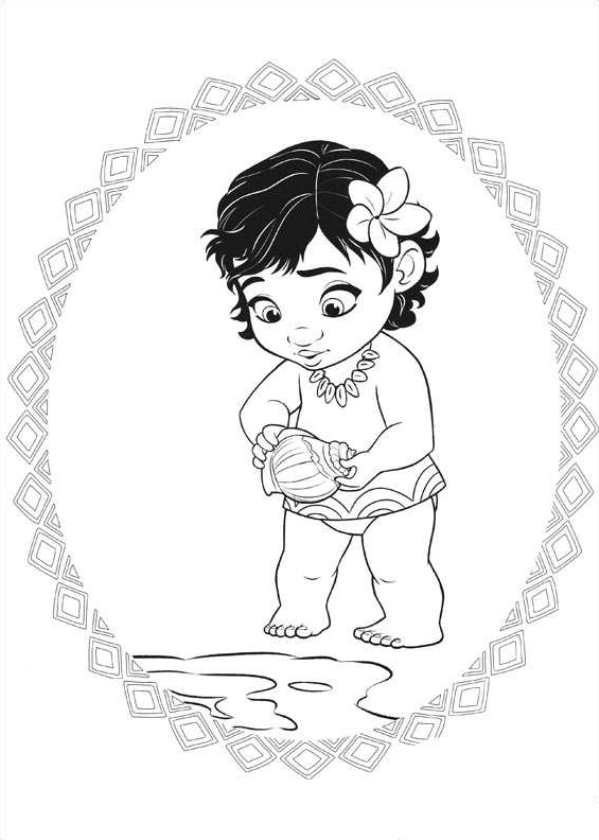 Klein on baby coloring pages