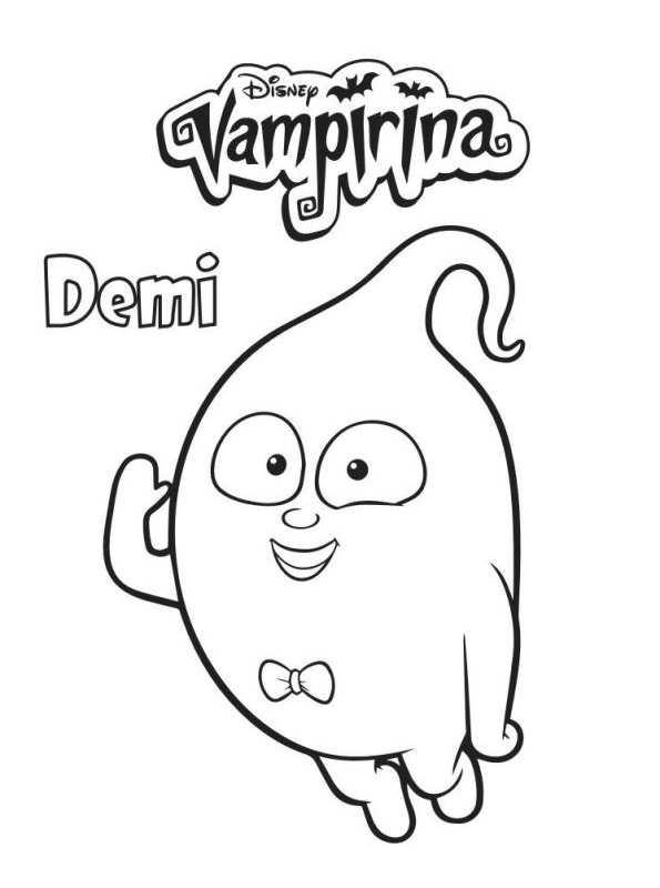 Kids N Fun De 4 Ausmalbilder Von Vampirina