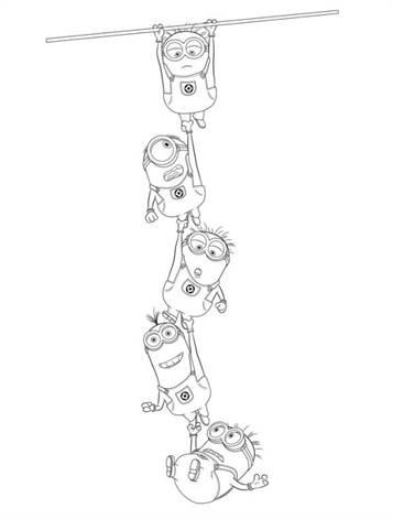 Kids N Fun De 16 Ausmalbilder Von Ich Einfach Unverbesserlich