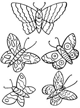 Schmetterling bilder zum ausmalen Schmetterling Ausmalbilder