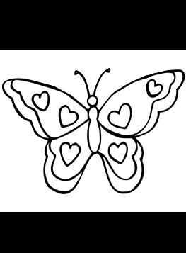 Schmetterlinge zum ausmalen und drucken