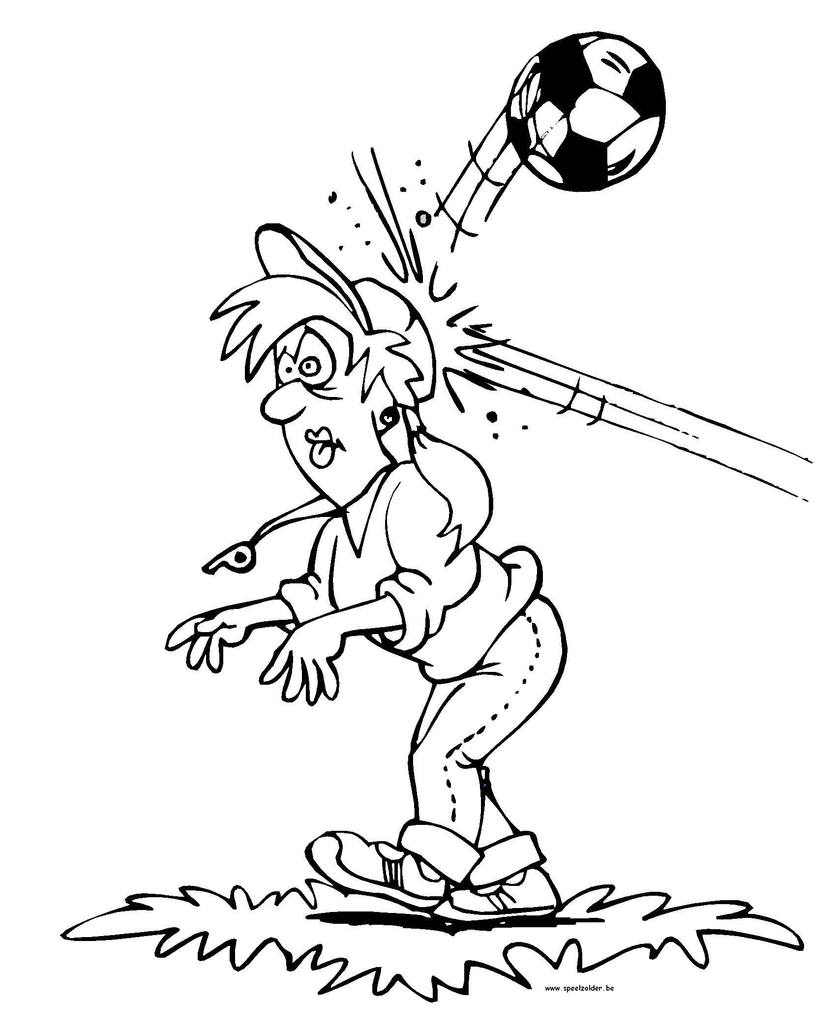 kidsnfunde  23 ausmalbilder von fussball