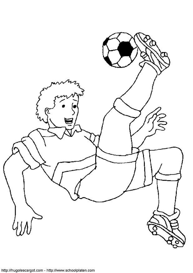 kidsnfunde  malvorlage fussball fussball