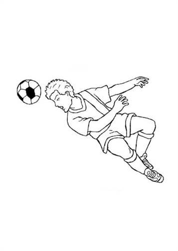 Kids N Fun De 23 Ausmalbilder Von Fussball