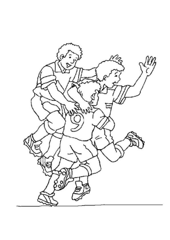 kids-n-fun.de | 23 ausmalbilder von fussball