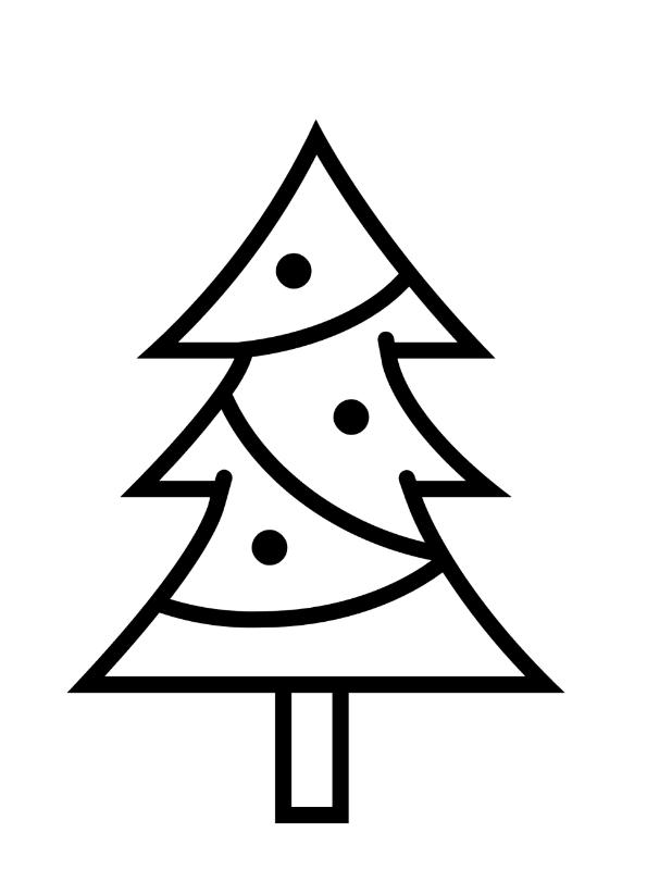 kidsnfunde  malvorlage formen feiertags weihnachtsbaum