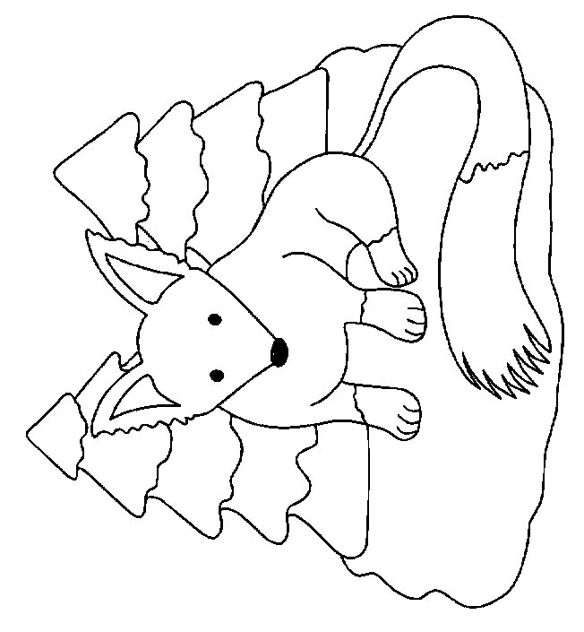 Kids-n-fun.de | 18 Ausmalbilder von Füchse