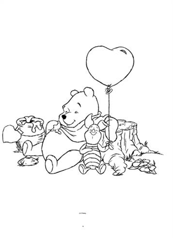 ausmalbilder winnie pooh und seine freunde - malvorlagen