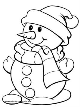 kids-n-fun.de   35 ausmalbilder von winter
