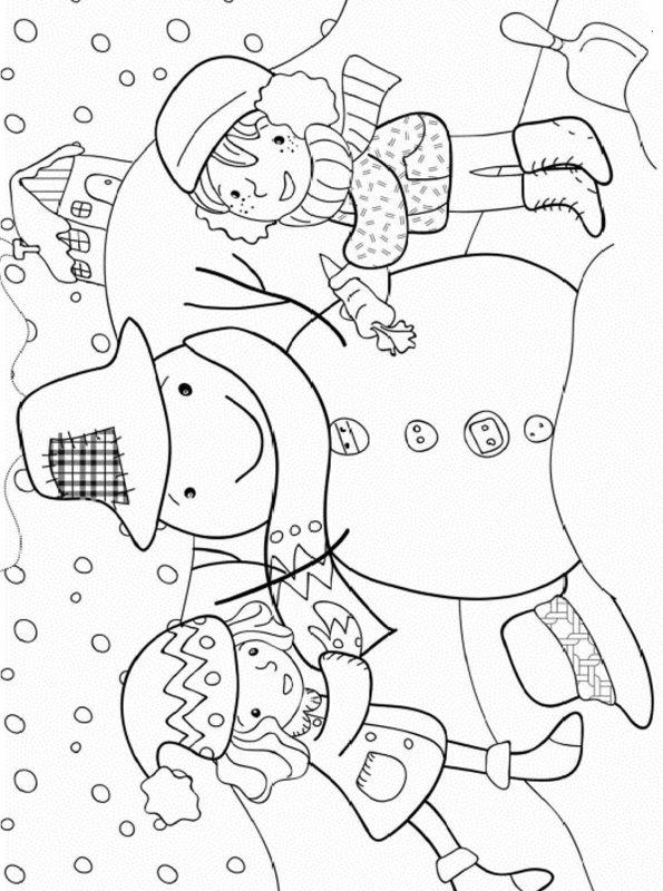 kidsnfunde  malvorlage winter winter