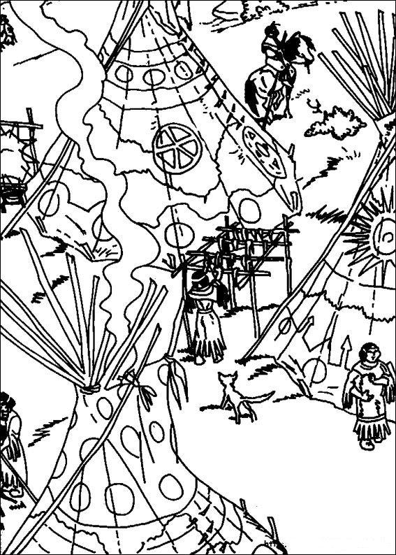 kidsnfunde  27 ausmalbilder von yakari