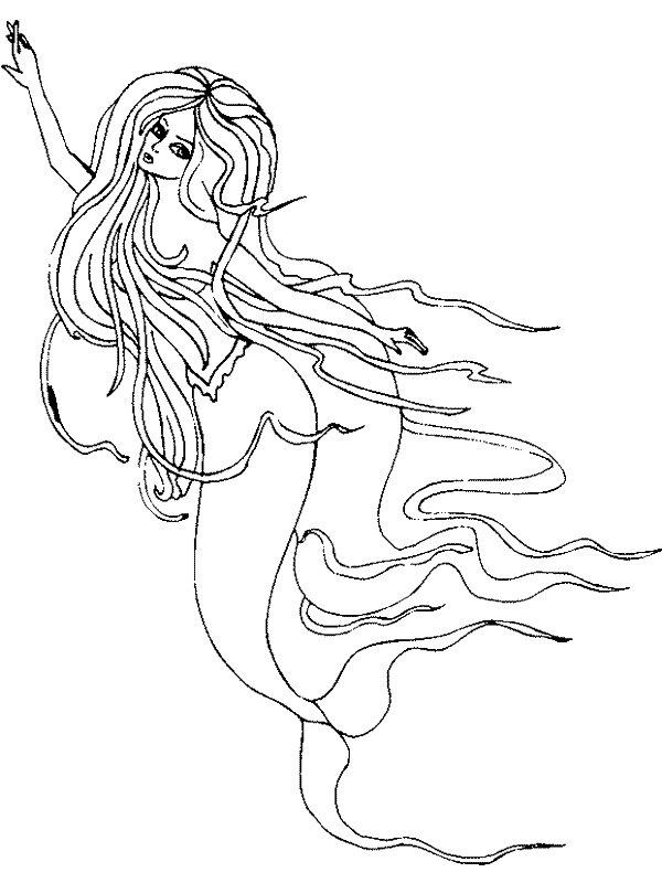 kidsnfunde  malvorlage meerjungfrau meerjungfrau