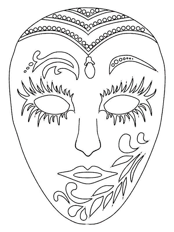 Kids N Funde Basteln Masken Menschen Karneval In Venedig
